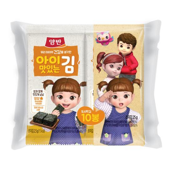 아이맛있는김[도시락10P(8매)]