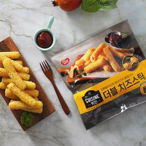 퀴진 더블 치즈스틱400g