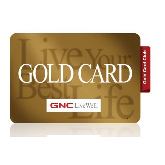 GNC 골드카드