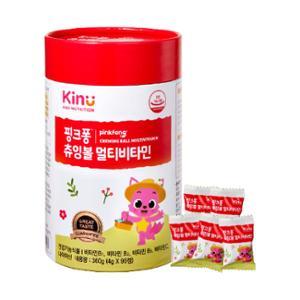 [KINU] 핑크퐁 츄잉볼 멀티비타민 360g (4g x 90정)