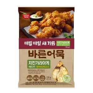 바른어묵 치킨가라아게 매콤고추 150gx2