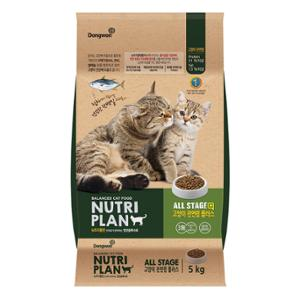 *단종* 뉴트리플랜 고양이전연령 플러스 5kg