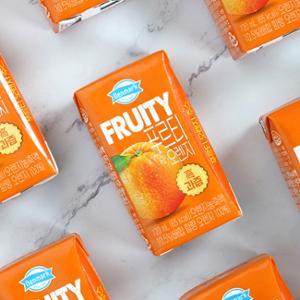 프루티 오렌지 120mL(3번들)