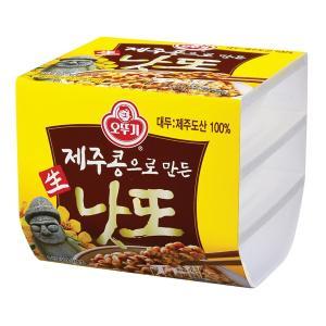 [오뚜기] 제주콩으로만든 생낫또 168g