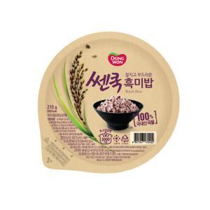 (찰진)건강한 흑미밥 210gx3입