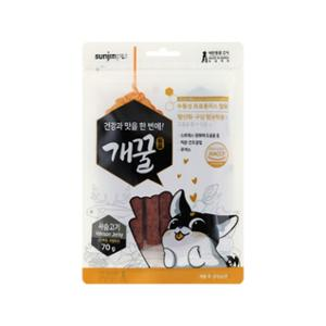 [10%리워드] 개꿀 프로폴리스 져키 사슴고기맛 70g