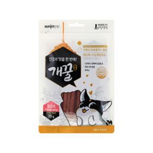 [10%리워드] 개꿀 프로폴리스 져키 닭고기맛 70g