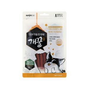 [10%리워드] 개꿀 프로폴리스 져키 양고기맛 70g