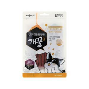 [10%리워드] 개꿀 프로폴리스 져키 소고기맛 70g