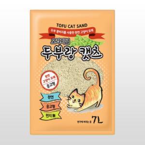 [10%리워드] 두부랑캣츠 이코노미 오리지널 무향 7L(2.8kg)