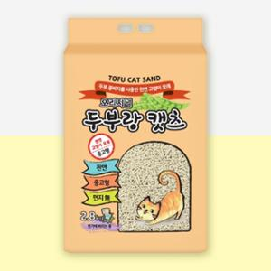 [10%리워드] 두부랑캣츠 프리미엄 오리지날 7L(2.8kg)