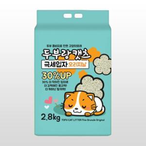 [10%리워드] 두부랑캣츠 극세입자 오리지날 7L(2.8kg)