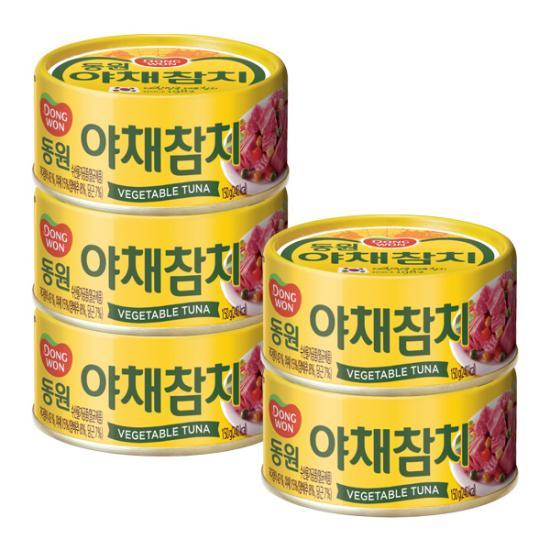 [동원] 야채참치 150g*5캔