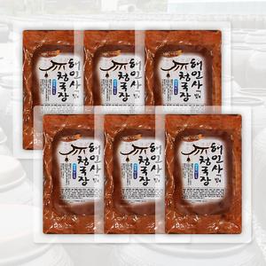 [해인사] 청국장 900g (150g*6)