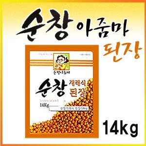 ★초특가/무료배송★ 순창 재래식 된장 14kg / 대용량 / 업소용