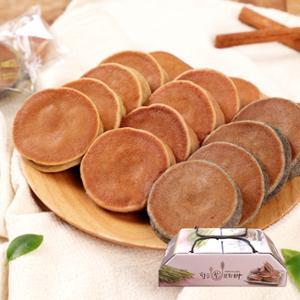 [설날선물세트][황금보리] 순수 국내산 보리로 만든 찰보리빵 20개입 (개당30g) / 선물박스포장