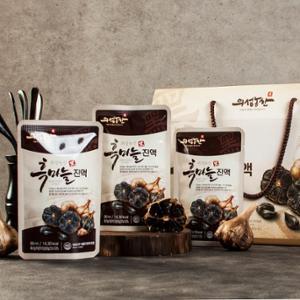 [무료배송][의성농산]흑마늘진액 80ml x 30팩