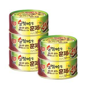 [동원] 순닭가슴살 훈제 135g*5캔