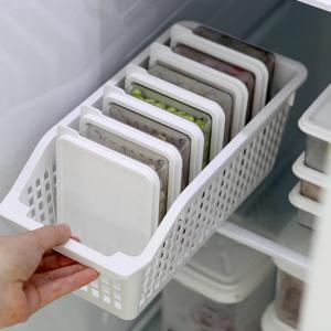 냉장고정리 실속형 (바스켓(B1호) + 소분용기(중1호6p)