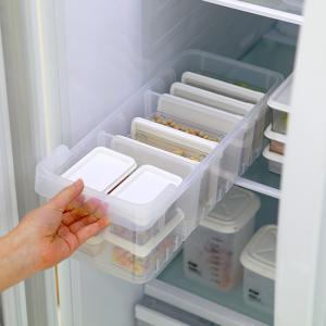 냉장고정리 표준형 트레이(대1개) + 소분용기(중1호3p + 중2호2p + 소1호3p + 소2호2p)