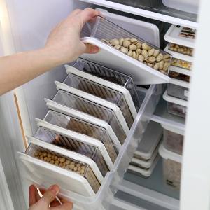 [STORYG] 센스맘 냉장고정리 고급형A (트레이(대1개) + 소분용기(대1호6p + 대2호2p)