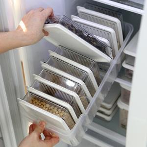 냉장고정리 고급형B (트레이(대1개) + 소분용기(대1호9p)
