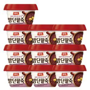 [동원] 양반 밤단팥죽 285g*10개