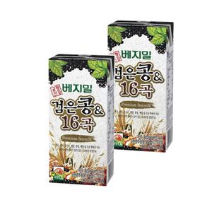 ★브랜드특가★ [정식품] 검은콩 16곡 베지밀 190ml×96팩
