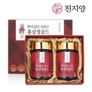 천지양 뿌리깊은 6년근 홍삼정 골드 500g