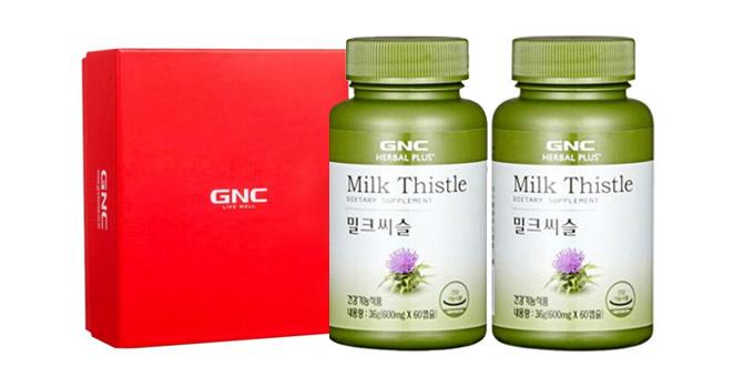 GNC 간건강 세트 [밀크씨슬 (30일분) x 2개]