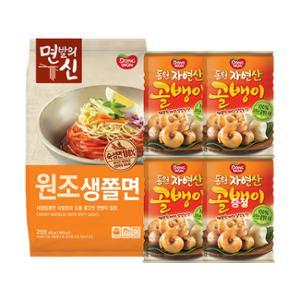[동원]자연산골뱅이 300gx4개+(증정)생쫄면 2인분