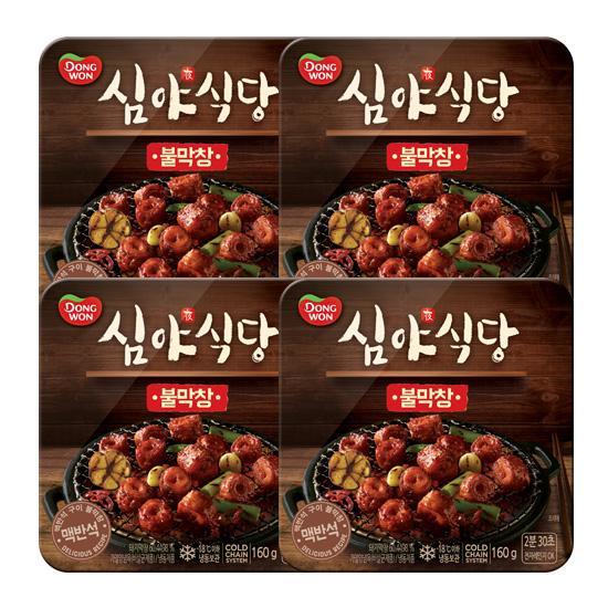 [동원] 심야식당 불막창 160g*4개