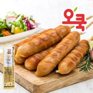 [오쿡] 닭가슴살 꼬치형 핫바 20+2팩 /부드러운 닭가슴살 샐러드와 잘어울려요!