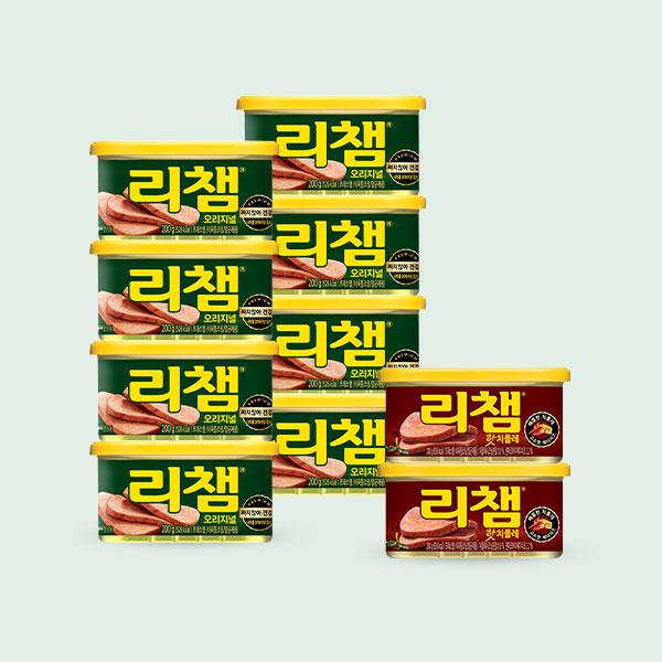 [동원] 리챔 200g*8캔+매운리챔 200g*2캔