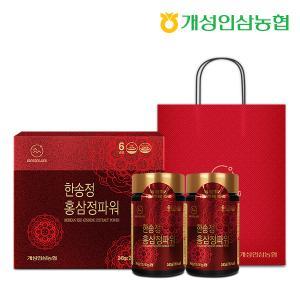 [개성인삼농협] 한송정 홍삼정 파워 (240gX2병) - 1세트(선물쇼핑백 증정)