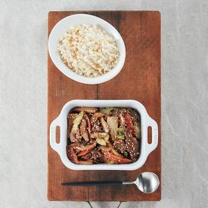 고급 요리 스타일의 다이어트 건강식단(1주 5회)