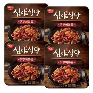 [동원] 심야식당 주꾸미볶음 180g*4