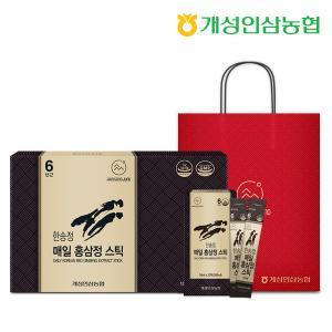 개성인삼농협 한송정 매일 홍삼정스틱 (10mlX60포) 1박스