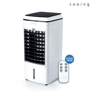 쿠잉 이동식 파워 냉풍기 리모컨/선풍기 CW-E04WR