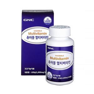 GNC 츄어블 멀티비타민 (60)