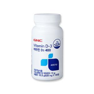 GNC 비타민 D3 400 (100)