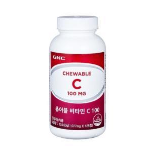 GNC 츄어블 비타민C 100 (125정)