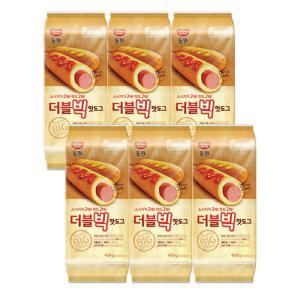 [동원] 더블빅 핫도그 400g x 6봉(총24ea)