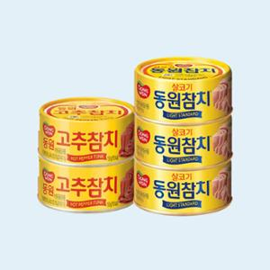 [동원]라이트스탠다드 135g*12캔 + 고추참치 150g* 3캔