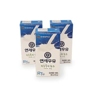 연세우유 멸균우유 200ml x 24팩