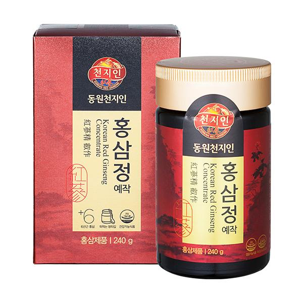 천지인 홍삼정 예작 240g / 쇼핑백 포함