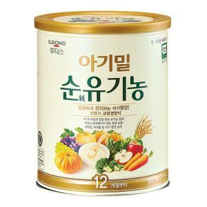 후디스 아기밀 순유기농 12개월부터 1캔 (540g)