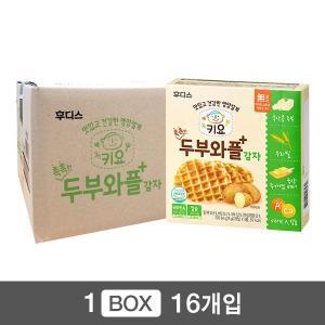 키요 촉촉한 두부와플 감자 64g×16개 / 1box