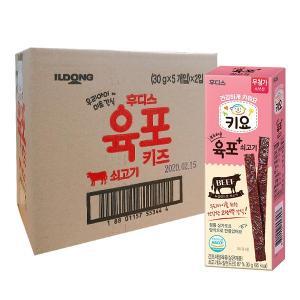 후디스 키요 부드러운 육포 쇠고기 30g×10개 / 1box