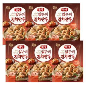 [동원] 개성 얇은피 김치만두 400gx6